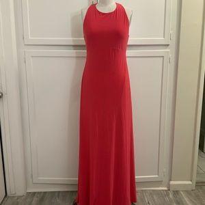 EUC Isaac Mizrahi empire waist gown